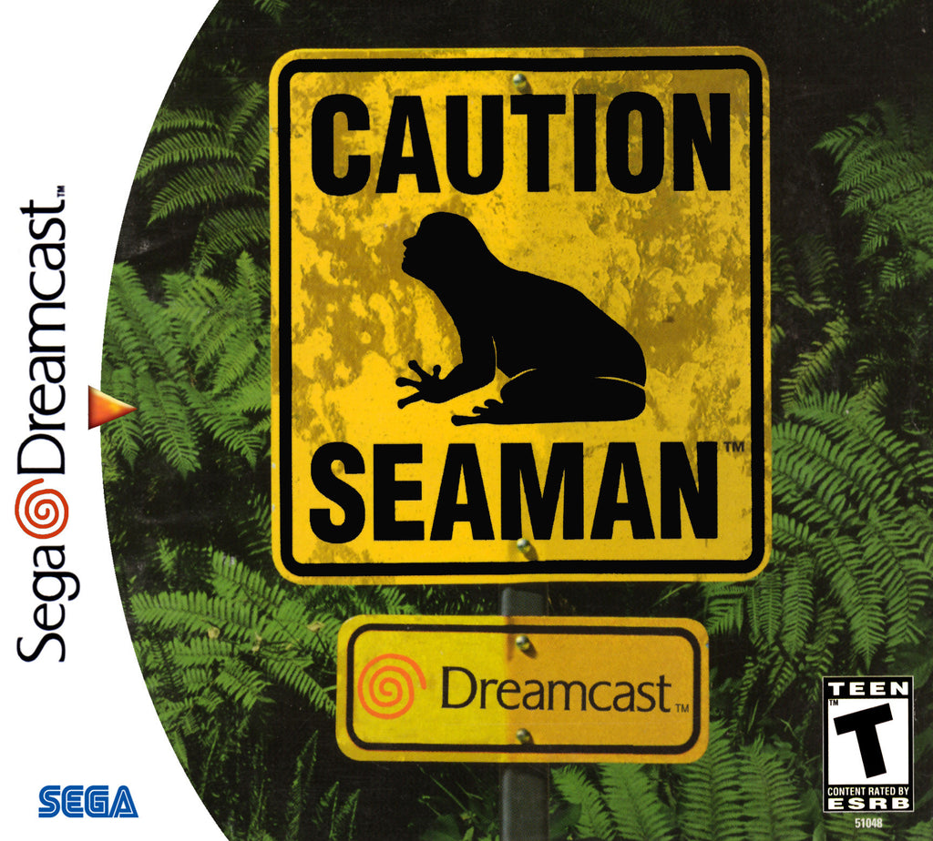 Seaman Box Art