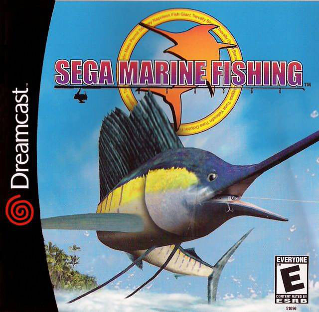 Sega Marine Fishing Box Art