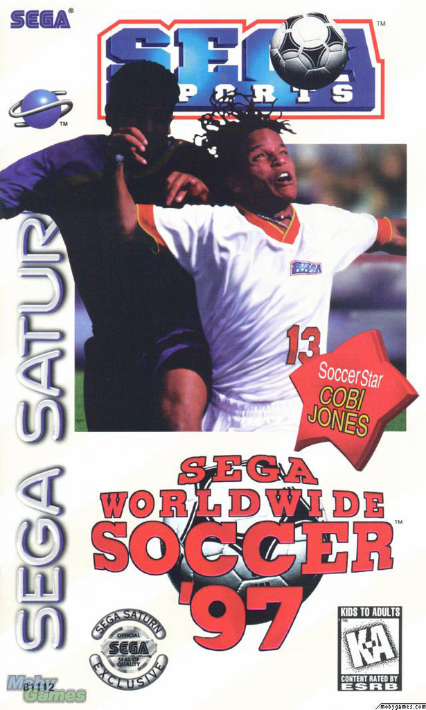 Sega Worldwide Soccer '97 Box Art