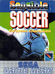 Sensible Soccer: European Champions Box Art
