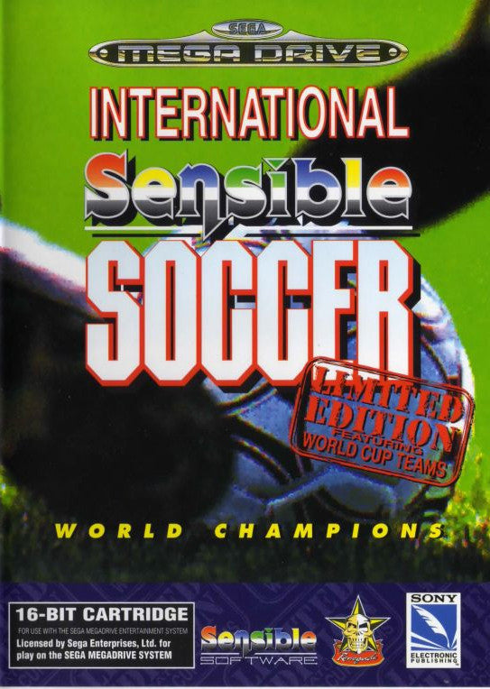 Sensible Soccer: International Edition Box Art