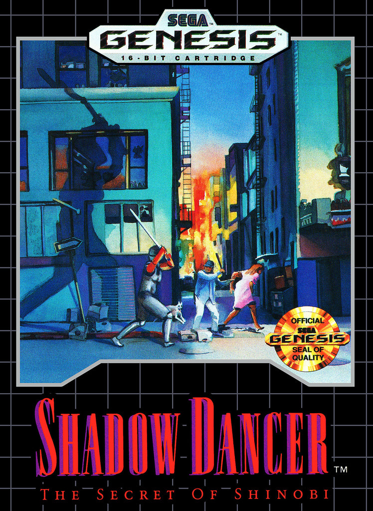 Shadow Dancer: The Secret of Shinobi Box Art