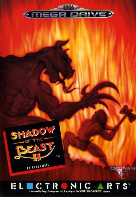 Shadow of the Beast II Box Art