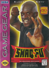 Shaq Fu Box Art