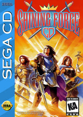 Shining Force CD Box Art