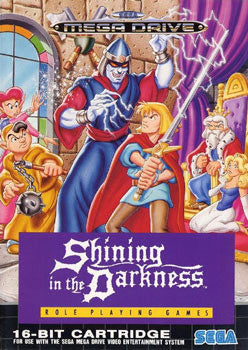Shining in the Darkness Box Art