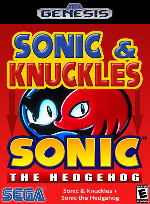 Sonic & Knuckles + Sonic the Hedgehog Box Art