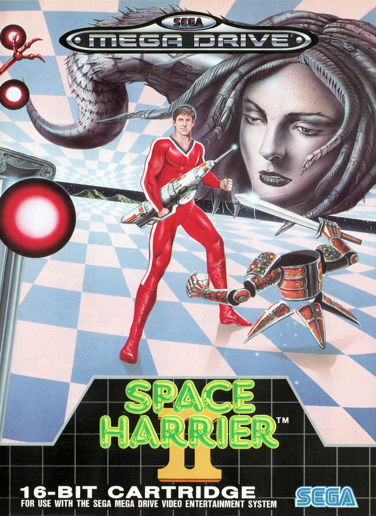 Space Harrier II Box Art
