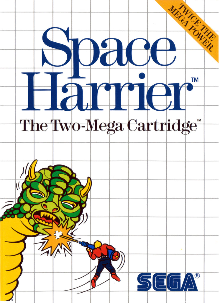 Space Harrier Box Art