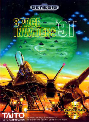 Space Invaders '91 Box Art