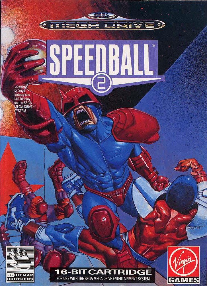 Speedball 2: Brutal Deluxe Box Art
