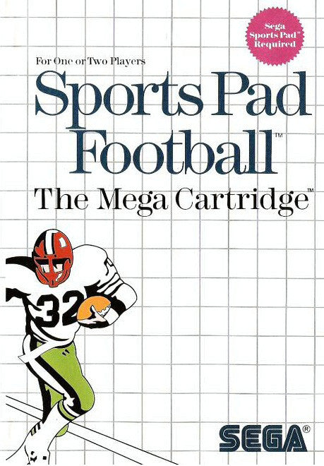 Sports Pad Football Box Art