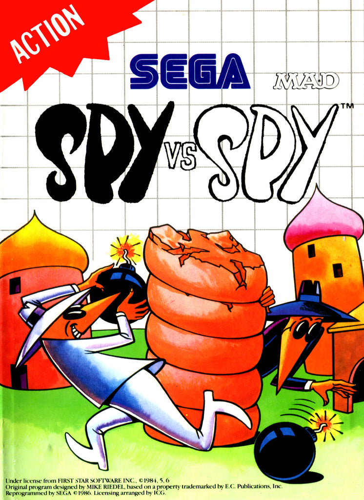 Spy vs Spy Box Art