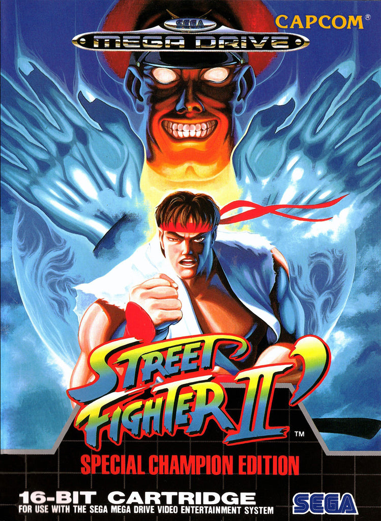 Street Fighter II': Special Champion Edition Box Art