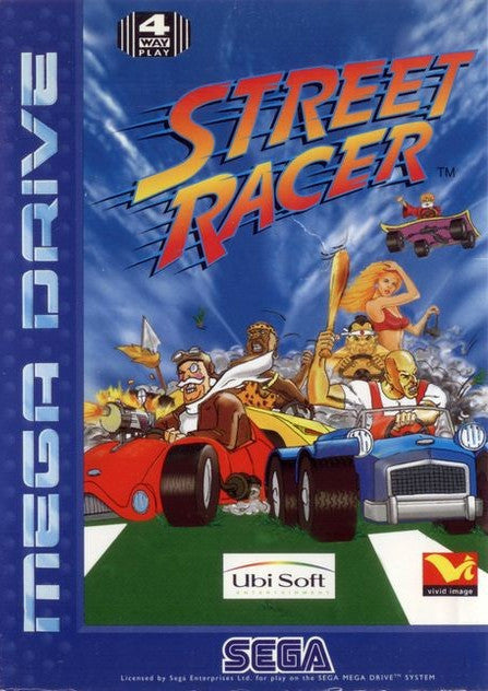 Street Racer Box Art