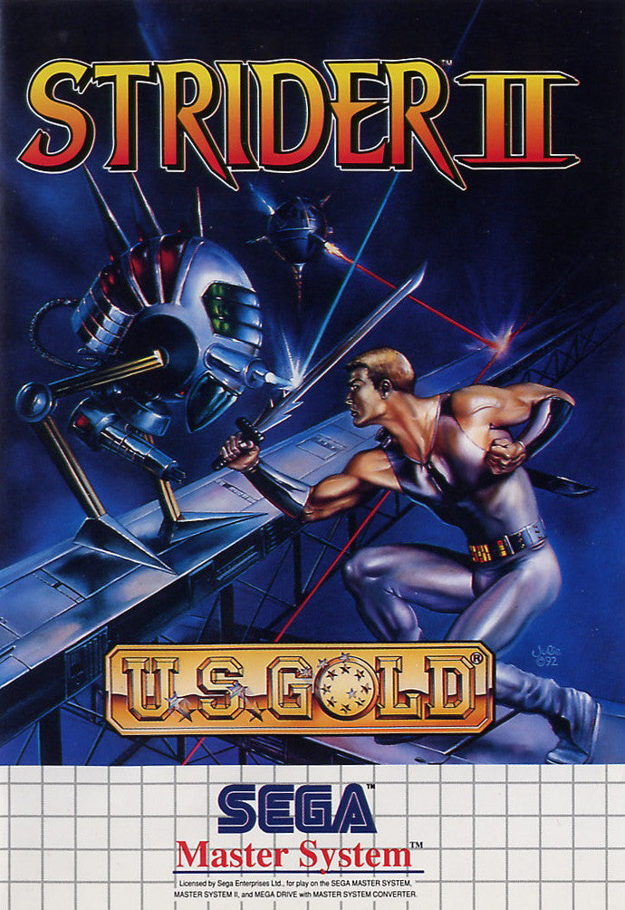 Strider II Box Art
