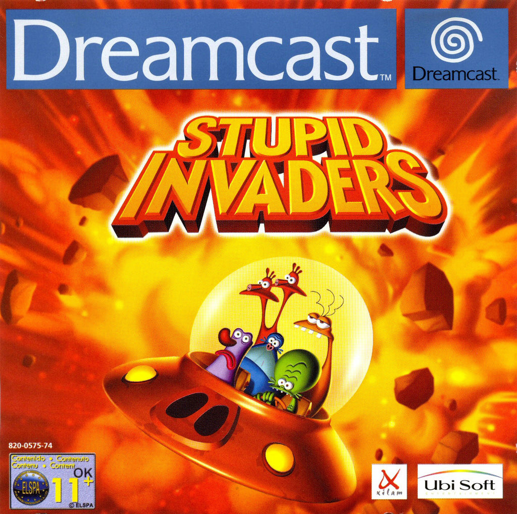 Stupid Invaders Box Art