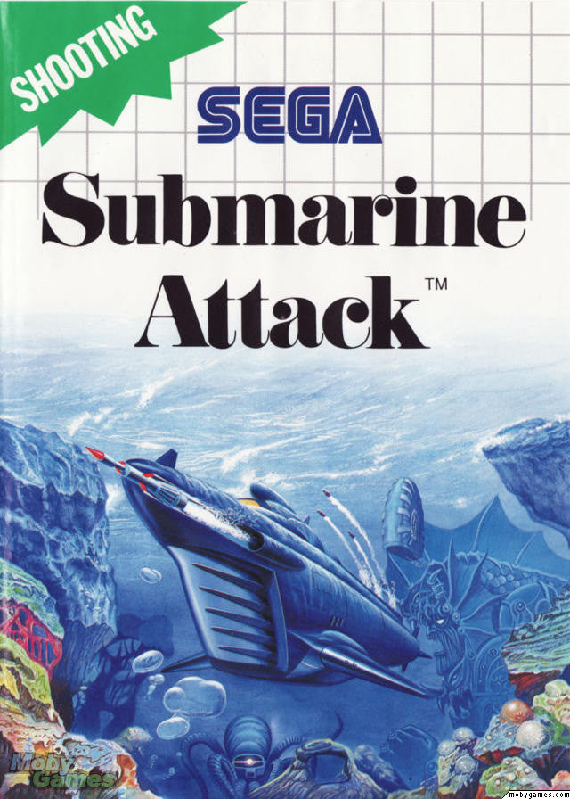 Submarine Attack Box Art