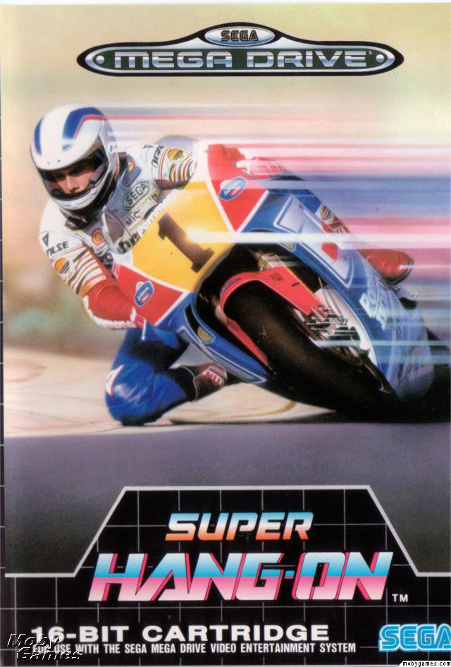 Super Hang-on Box Art