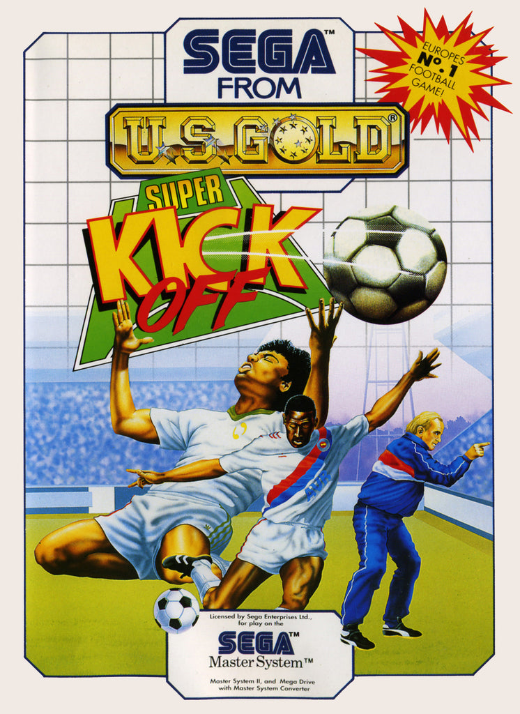 Super Kick Off Box Art