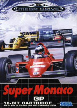 Super Monaco GP Box Art