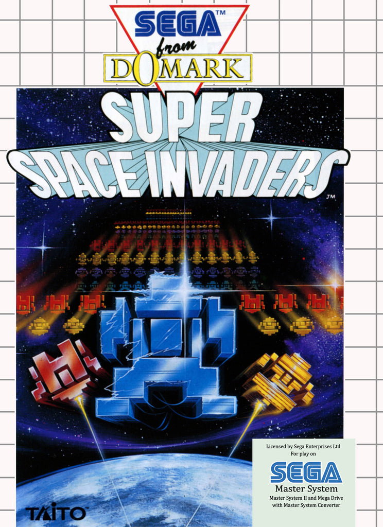 Super Space Invaders Box Art