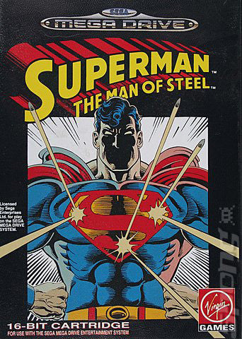 Superman: The Man of Steel Box Art
