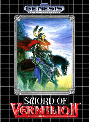 Sword of Vermilion Box Art