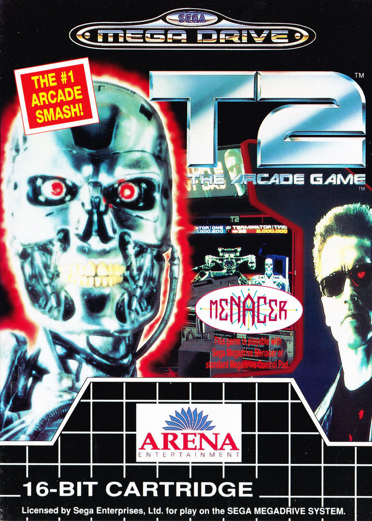 T2: The Arcade Game Box Art
