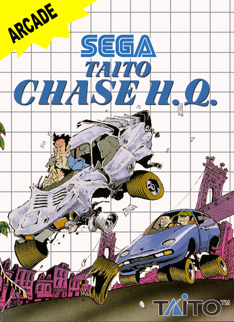 Taito Chase H.Q. Box Art