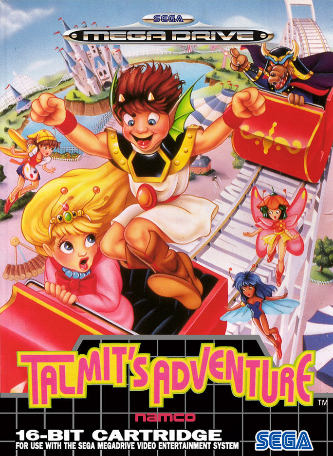 Talmit's Adventure Box Art