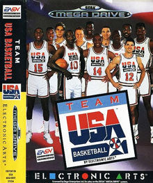 Team USA Basketball Box Art