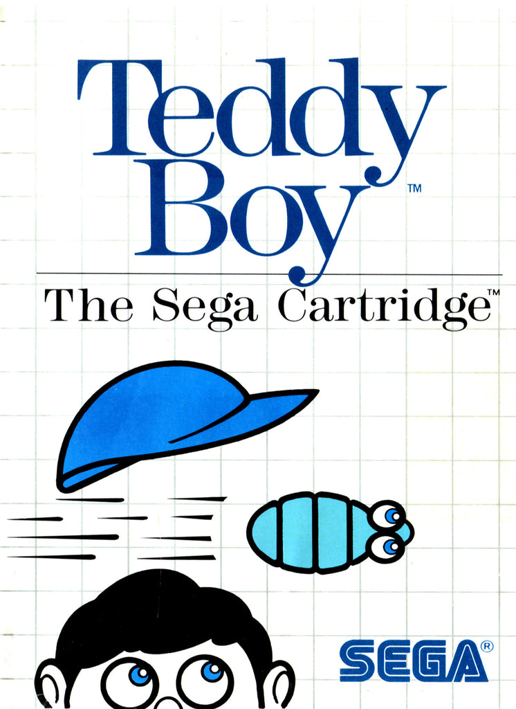Teddy Boy Box Art