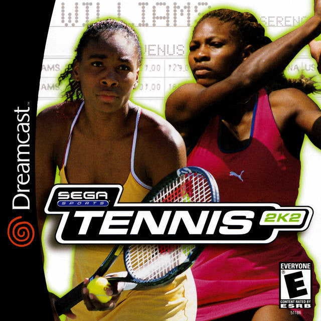 Tennis 2K2 Box Art