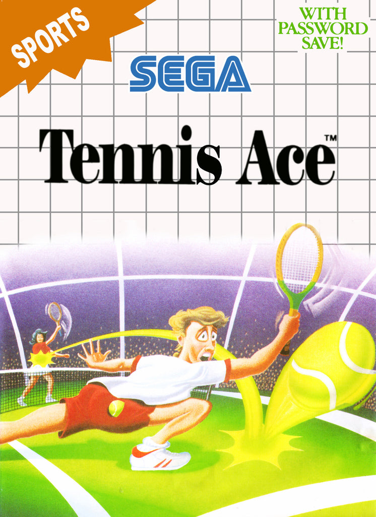 Tennis Ace Box Art