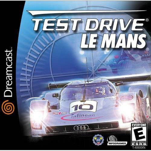 Test Drive Le Mans Box Art