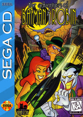 The Adventures of Batman & Robin Box Art