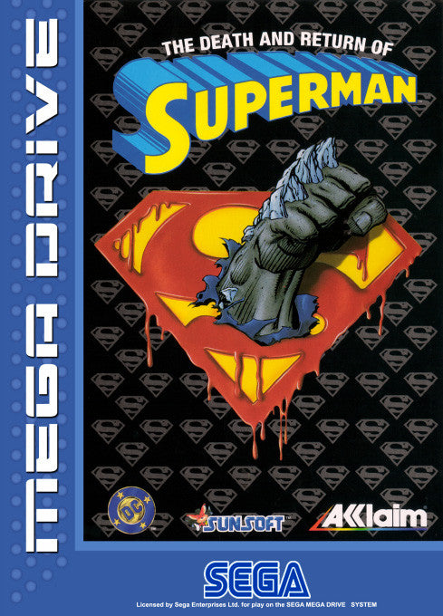 The Death and Return of Superman Box Art