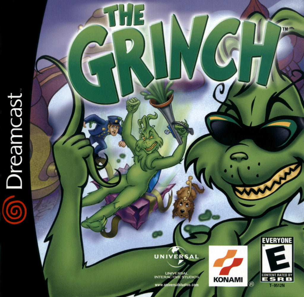 The Grinch Box Art
