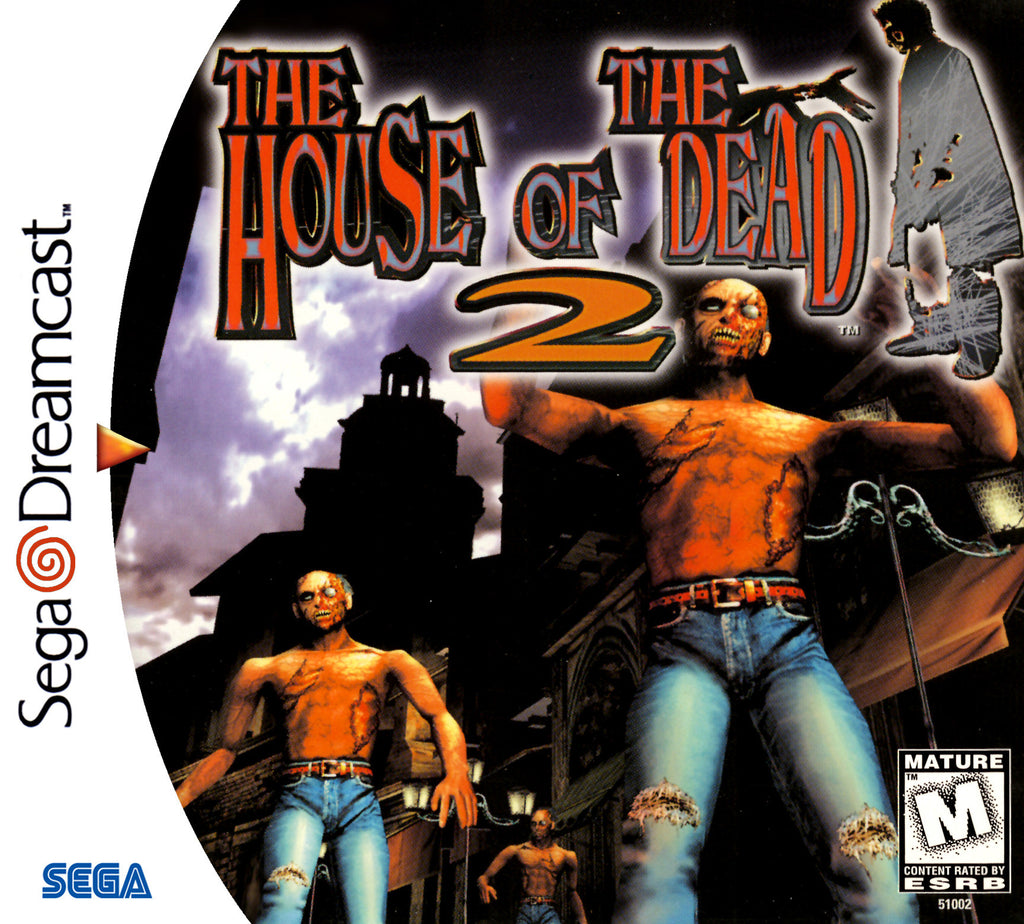 The House of the Dead 2 Box Art