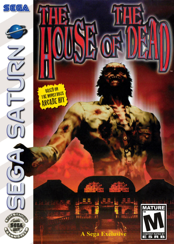 The House of the Dead Box Art