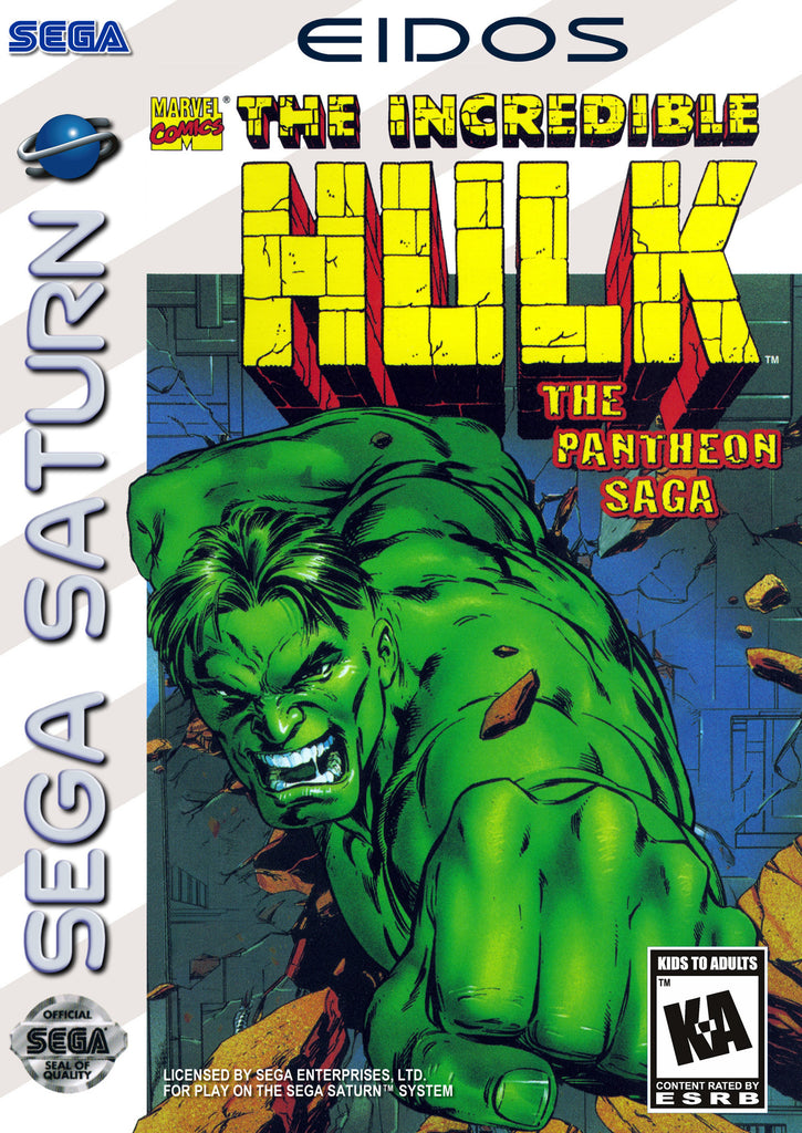 The Incredible Hulk: The Pantheon Saga Box Art