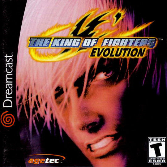 The King of Fighters: Evolution Box Art