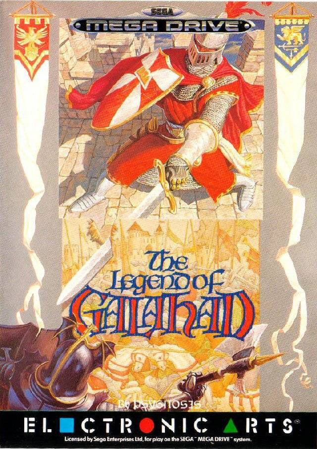 The Legend of Galahad Box Art