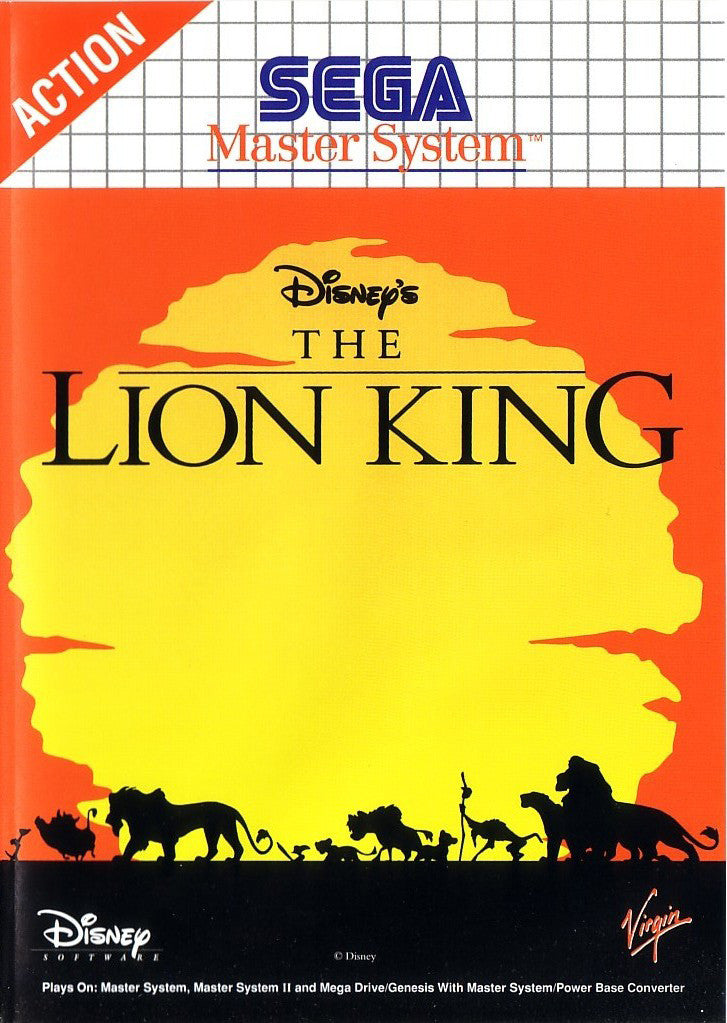 The Lion King Box Art
