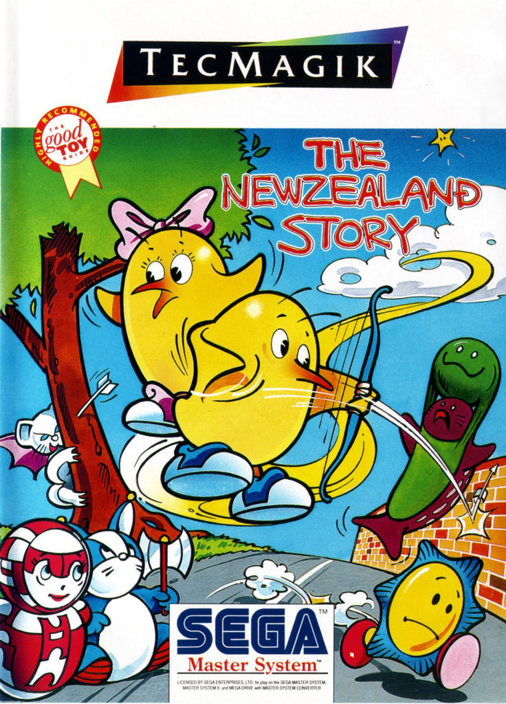 The New Zealand Story Box Art
