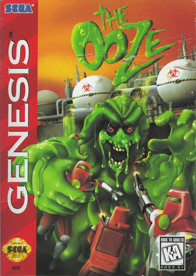 The Ooze Box Art