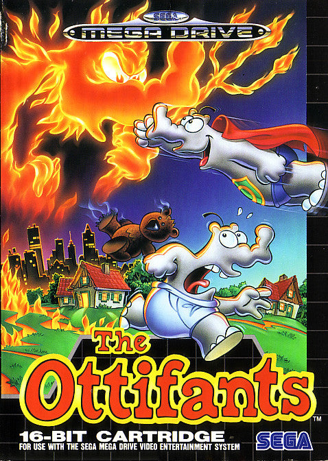 The Ottifants Box Art