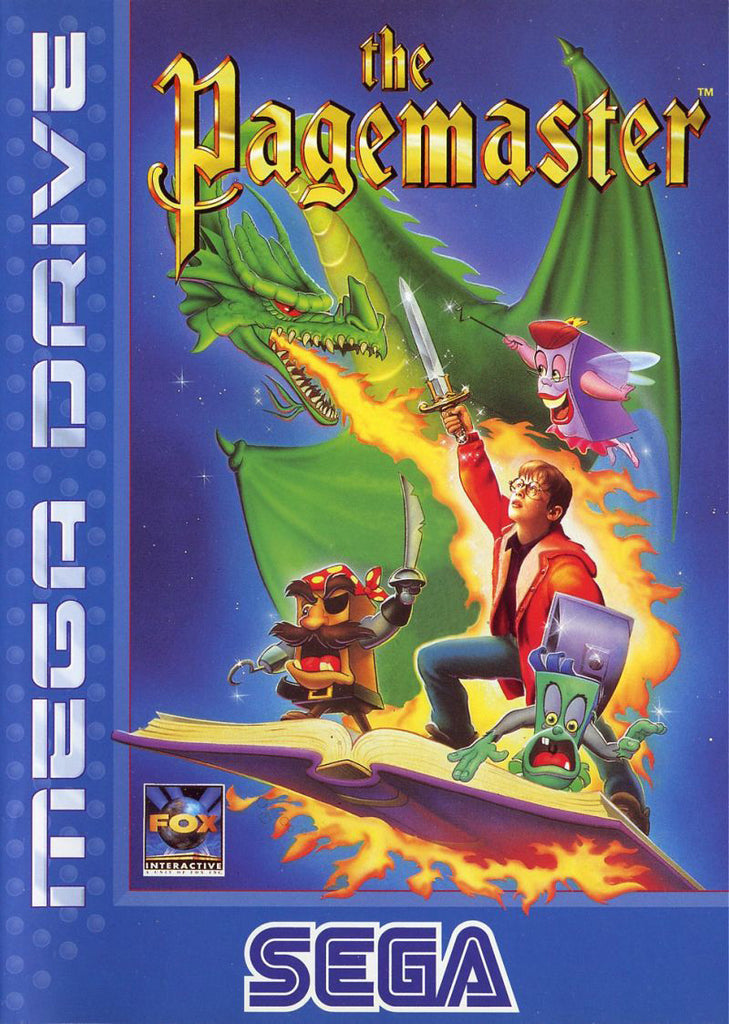 The Pagemaster Box Art