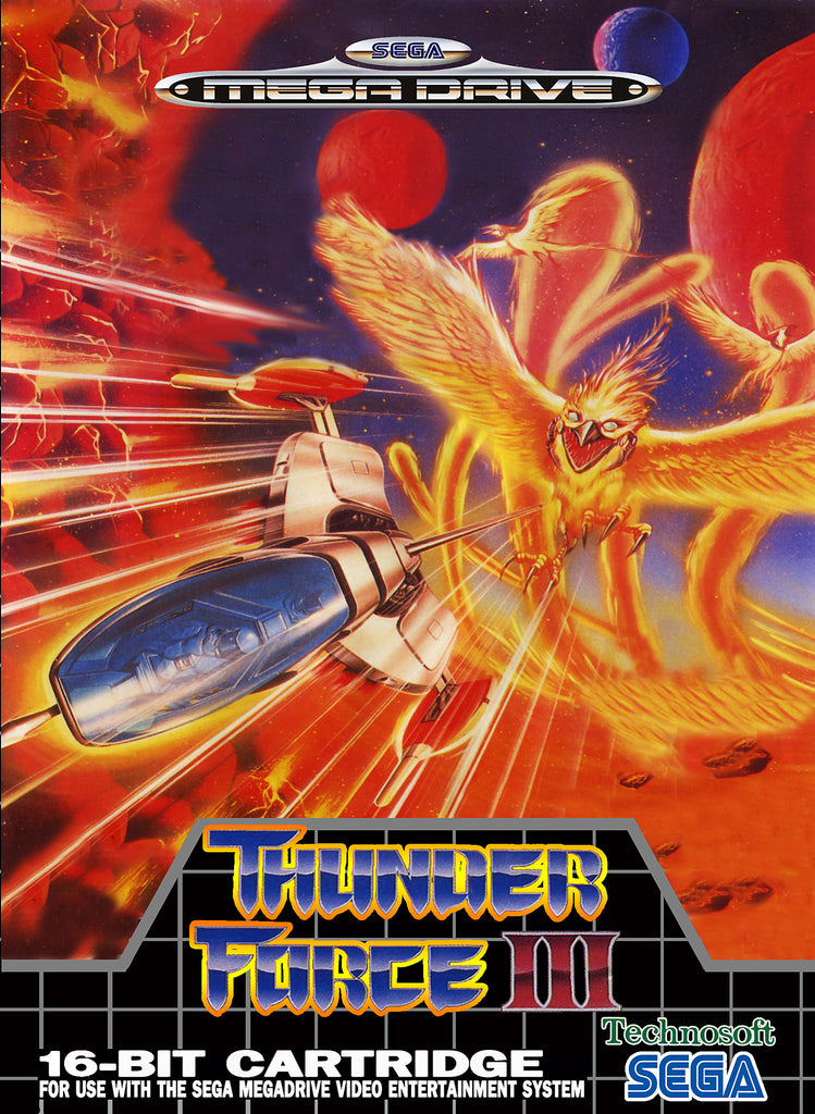 Thunder Force III Box Art